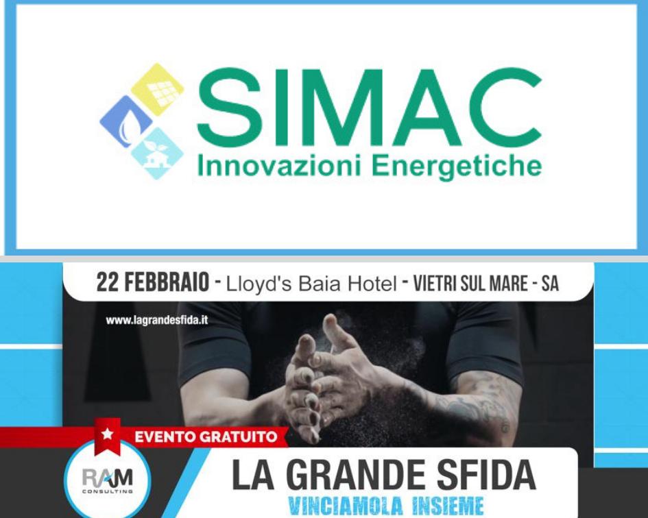 """Simac Solar Partner di Ram Consulting a """"La Grande Sfida 2019"""""""