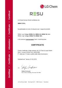 Certificazioni Simac Solar