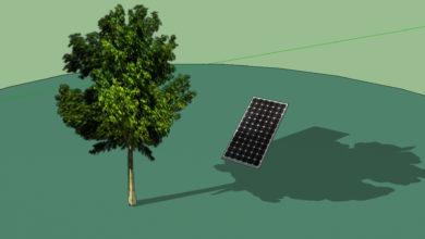 L'ombra può influire sul funzionamento dei tuoi pannelli solari