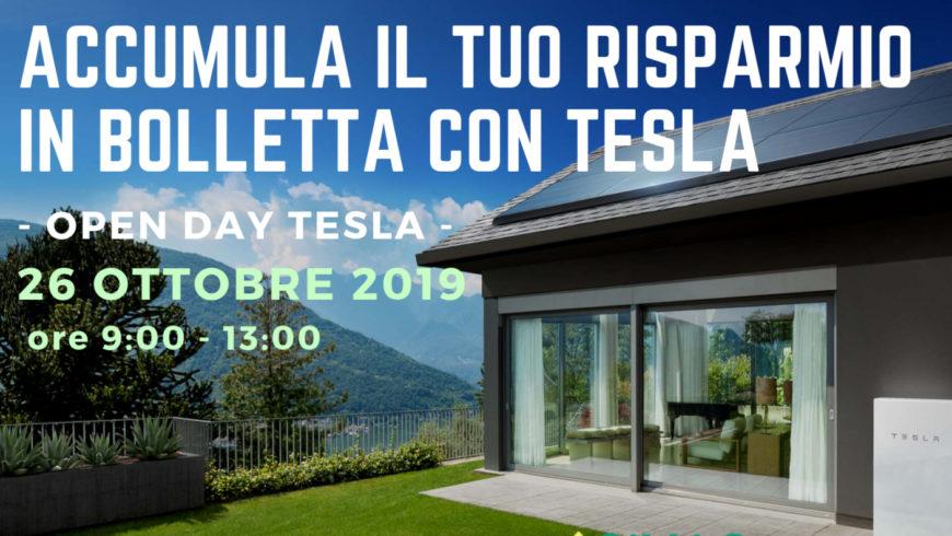 Open Day Tesla per la prima volta a Benevento