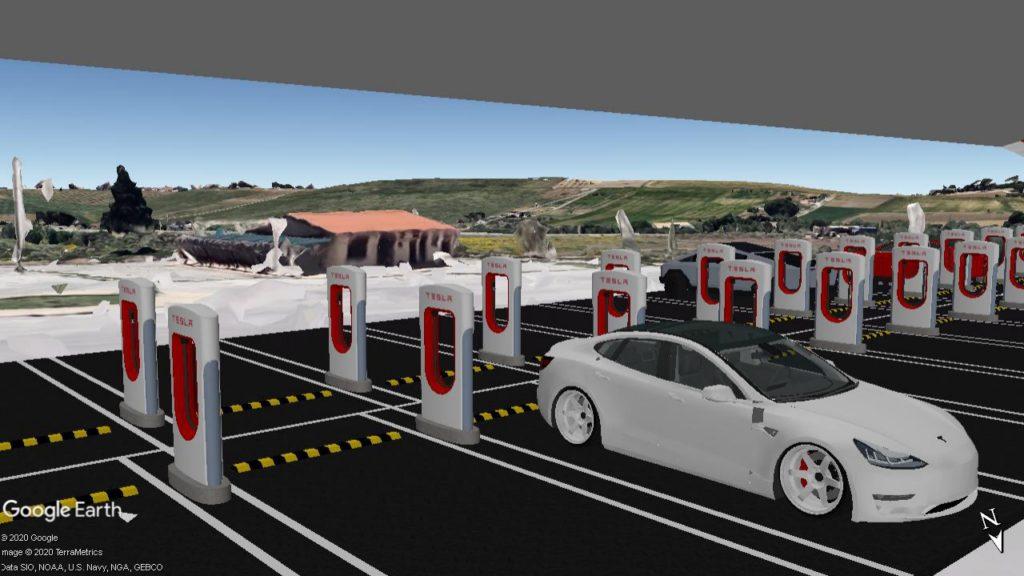 Tesla e il sogno di un Supercharger in Sicilia ai piedi della Valle dei Templi