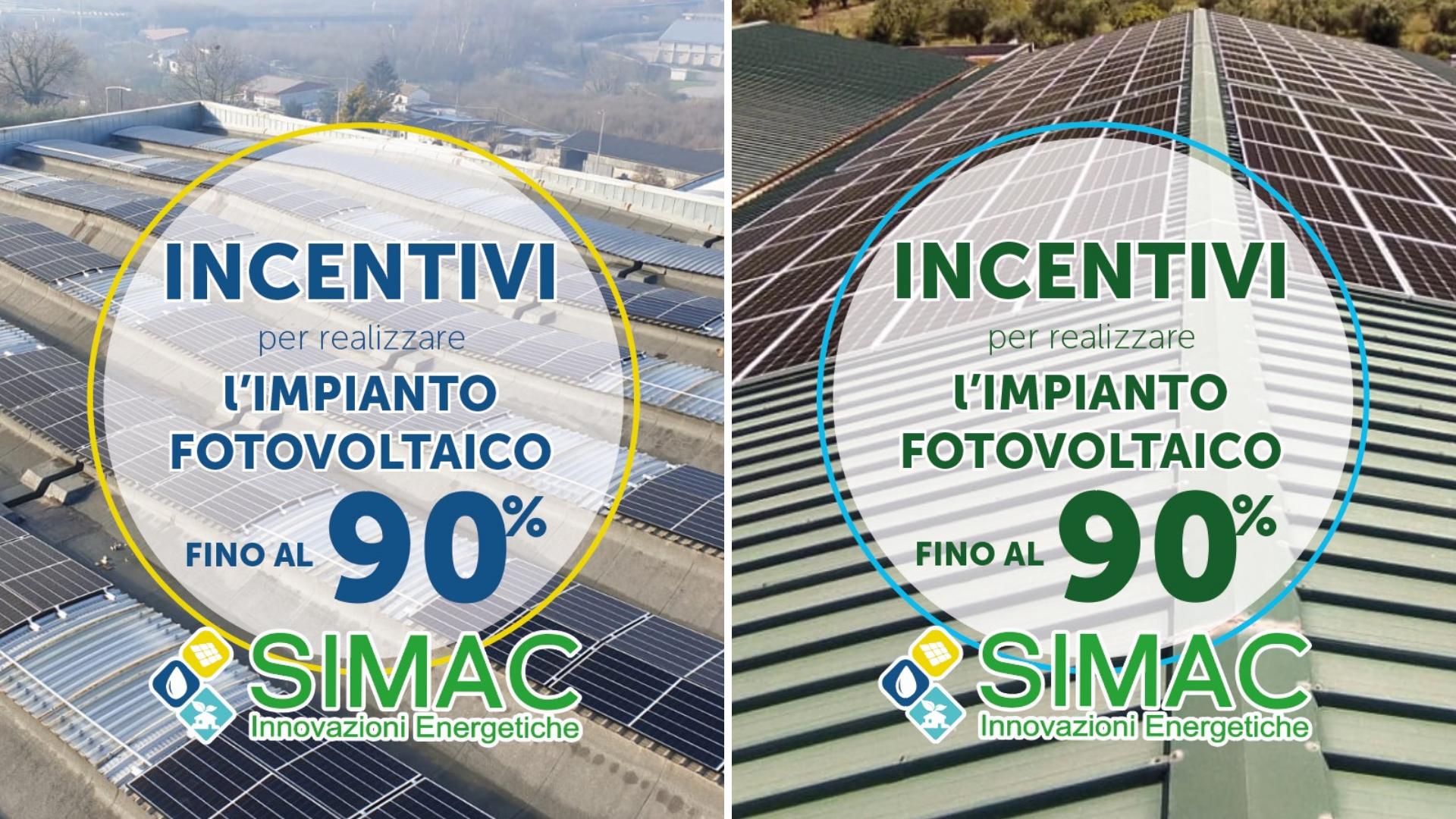 Simac Solar - incentivi per le imprese